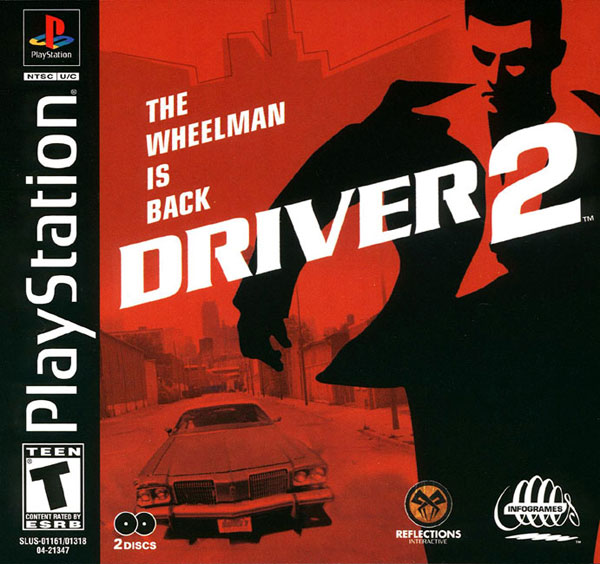 Driver 2 [Disc1of2] [U] Front Cover